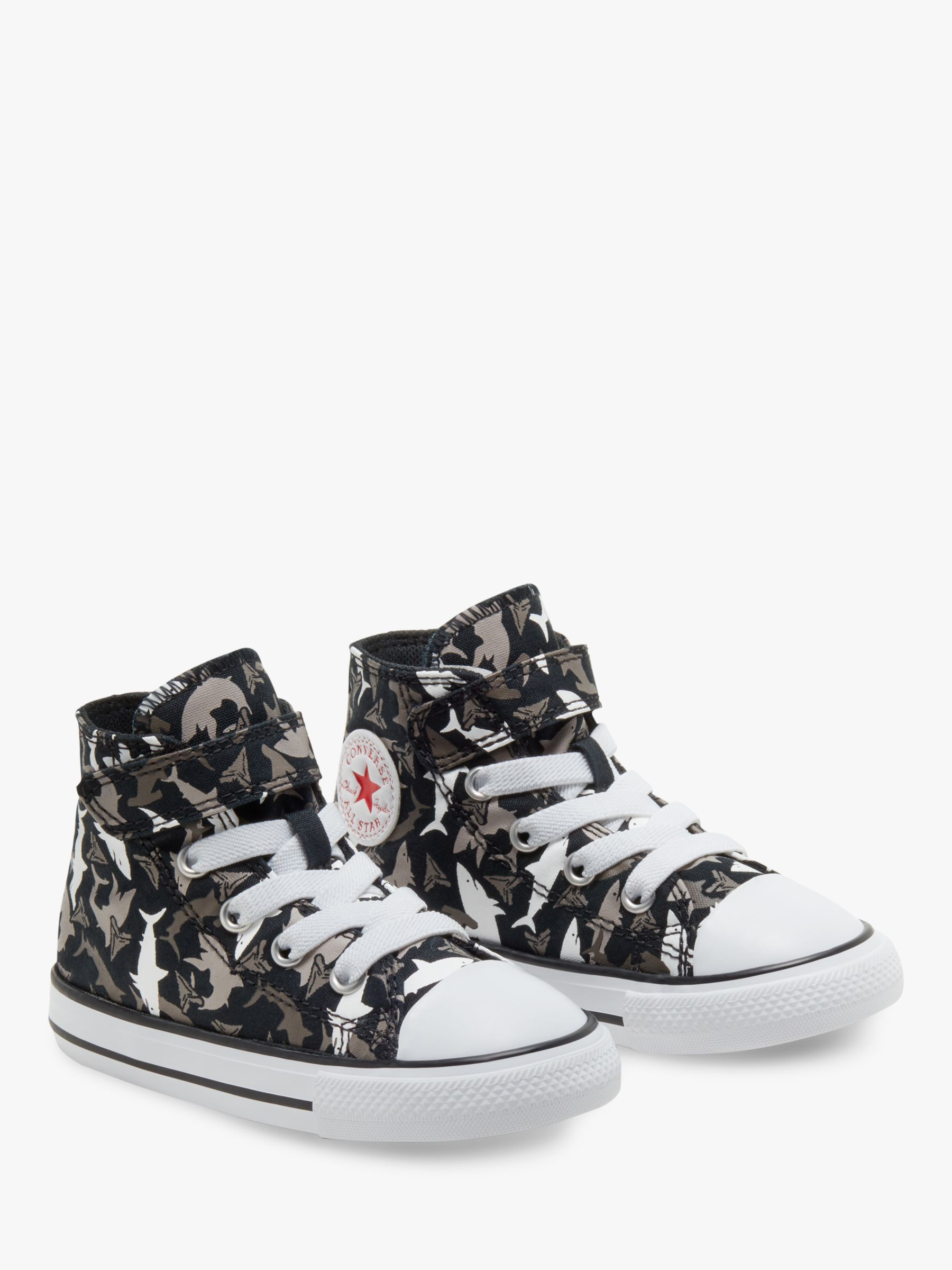 black high top converse junior