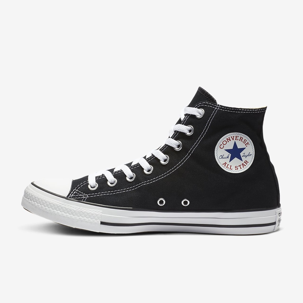 converse high tops black size 5