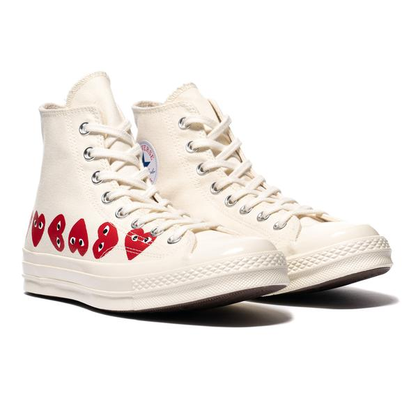 converse with hearts